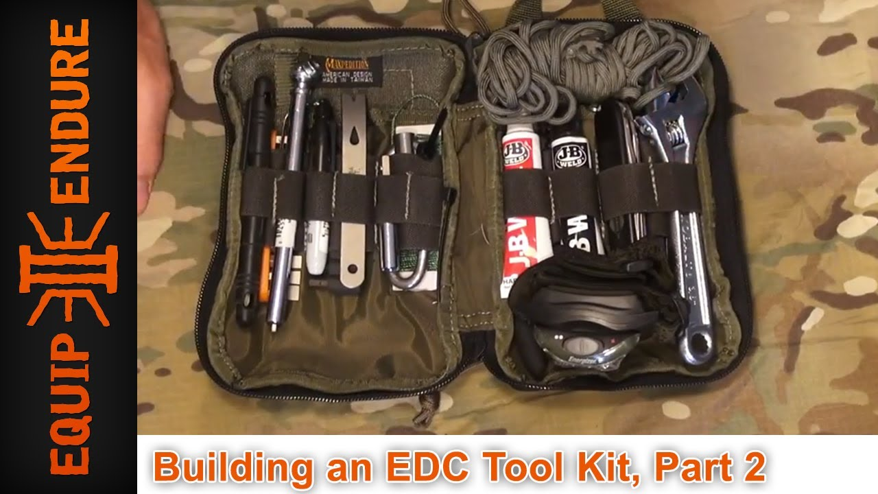 Building An Edc Tool Kit Part 2 By Equip 2 Endure Youtube
