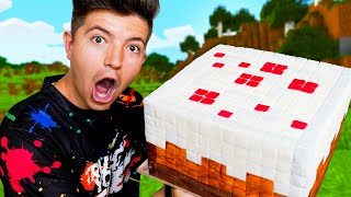 I Ate EVERY Food from Minecraft in Real Life