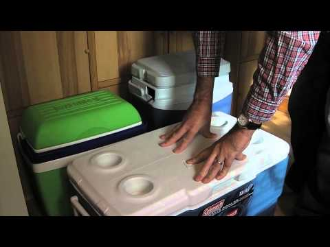 video Coleman Xtreme 33L CoolBox Review – A big well-insulated coolbox