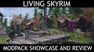 LIVING SKYRIM - Skyrim SE Modlist - Showcase & Review