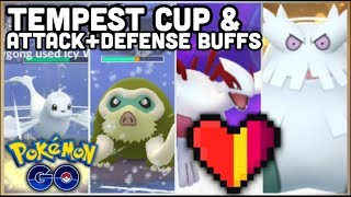 TEMPEST CUP & ATTACK + DEFENSE BUFFS NOT WORTH IT IN POKEMON GO