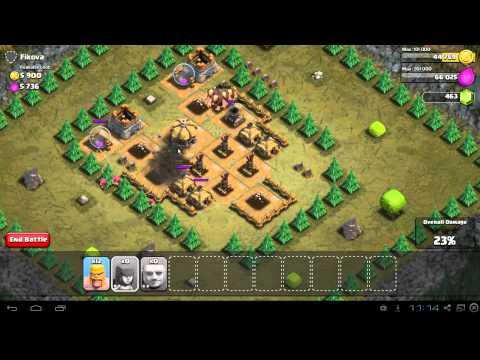 Clash Of Clans Einzelspieler Durchgangsroute Videomoviles Com
