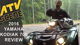 2016 Yamaha Kodiak 700 4x4 EPS Ride Review