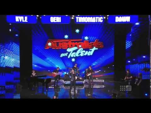Baixar Greg Gould & The Chase - Band - Australia's Got Talent 2013 - Audition [FULL]