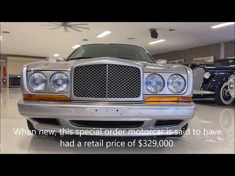 video 1996 Bentley Continental R