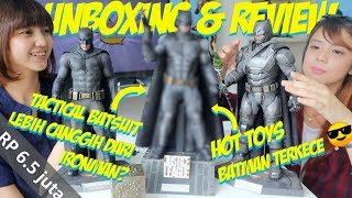 HOT TOYS TERKEREN DI PENGHUJUNG TAHUN 2018!!UNBOXING Justice League Batman Tactical Batsuit!!