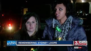Remembering Sydney Loofe: Candlelight vigil