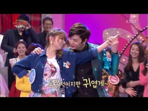 Trouble Maker- Sohyun (4Minute) & Sungjae (BTOB) [HD]
