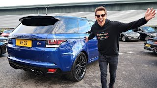 I BOUGHT A RANGE ROVER SPORT SVR! *REVEALED*