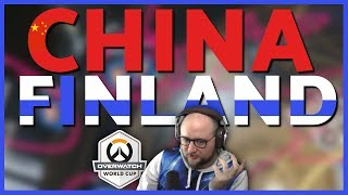 Jayne Reviews China vs Finland | Overwatch World Cup 2018