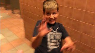 Kid Temper Tantrum Got Scared During Jurassic World 2 [ Original ]