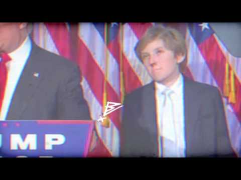 Trumps Kid Is Stoked