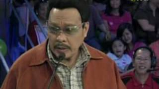 "Willie Nepumoceno as ""Sherap""  - Wowowee's Funniest Episode"