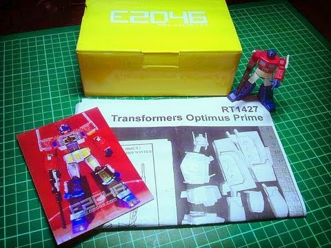 RT1427 Optimus Prime Review (Part 1)
