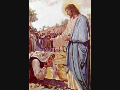 roberto orellana - jesus y el leproso.