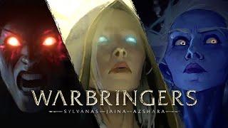 Warbringers Cinematics | Sylvanas, Jaina and Azshara | WOW Warbringers