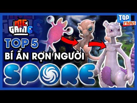 Top Bí Ẩn Rợn Người Game SPORE - 100% Bạn Không Biết   meGAME