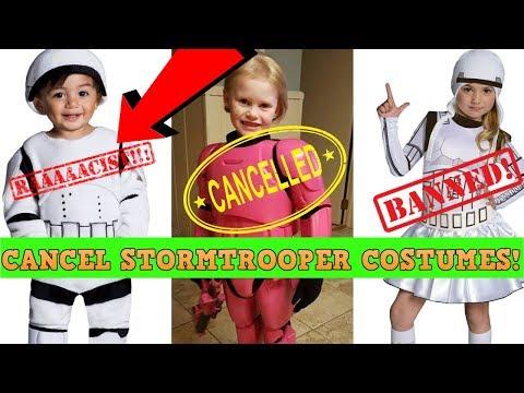 Ban Star Wars Costumes! Yahoo DEMANDS Kids Change!