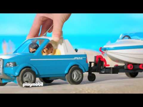 PLAYMOBIL présente... Une balade à la mer avec ton pick-up tout nouveau! (Belgique)