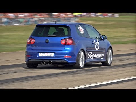 980HP Volkswagen Golf V R32 4Motion GTX42 0-316 km/h