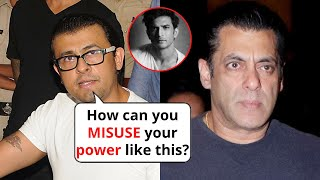 Bollywood singer Sonu Nigam taunts Salman Khan for ruining..