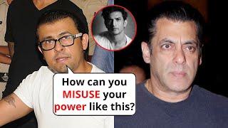 Bollywood singer Sonu Nigam taunts Salman Khan for ruining..
