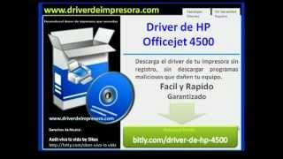 driver hp officejet 4500