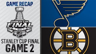 Blues get first-ever Cup Final win, even series