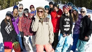 Jamie Anderson and Friends Shred Sierra At Tahoe - TransWorld SNOWboarding
