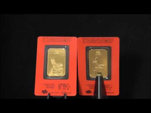 Pamp 1 Ounce 2015 Lunar Goat Gold Bar 999.9