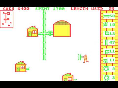Pipes (John Doering, Creative Software) (MS-DOS) [1983]