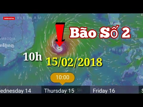 [BÃO SỐ 2] Tin Khẩn Cấp Mới Nhất Về ÁP THẤP NHIỆT ĐỚI có thể trở thành bão số 2 năm 2018 - Bình Luận