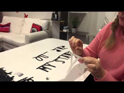 Maria pysslar - Del 1 - A little lovely banner