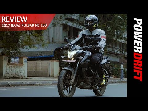 Bajaj Pulsar NS 160 (2017) : The Good And The Bad : PowerDrift