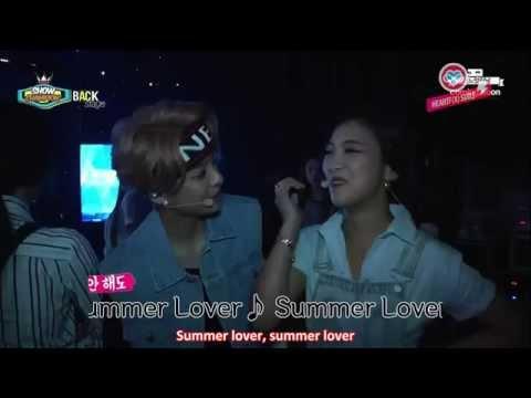 [HeartfxSubs] 140712 f(x) - Show Champion Backstage (eng)