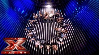 Group Performance of Taylor Swift's Shake It Off| The X Factor UK 2014