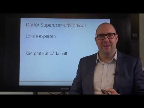 Super User-utbildning Dynamics 365
