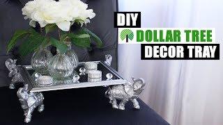 DIY DOLLAR TREE DECOR TRAY   DIY Glam Home Decor
