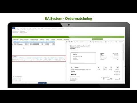 Ordermatchning -  inköp mot leverantörsfakturor