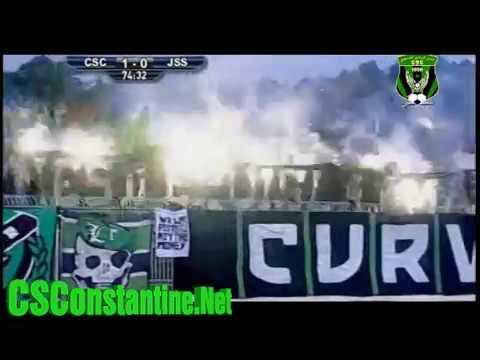 CSC 1 - JSS 0 : L'ambiance des supporters