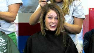 Mackenzie Shaves Her Head for Charity - St Baldrick's - March, 2012
