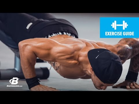 Decline Explosive Push-Up | Exercise Guide