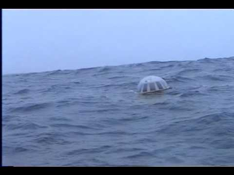 TRIAXYS Directional Wave Buoy deployed