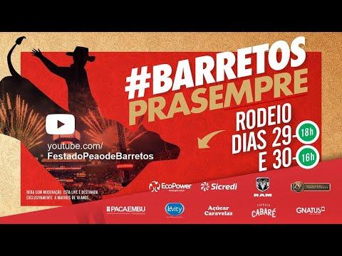 Live #BarretosPraSempre - Rodeio em Touros e Cutiano 2020