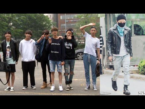 [SSTV 영상] 빅뱅-방탄소년단-몬스타엑스-핫샷, 화기애애 '뮤직뱅크 리허설' 출근길