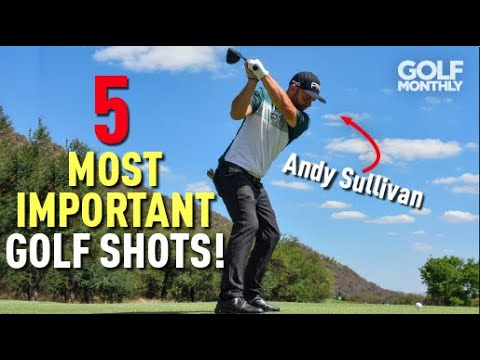 5 Most Important Golf Shots!! Golf Monthly