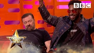 The guests discuss scary animals and taxidermy - The Graham Norton Show: 2017 Preview - BBC One