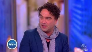 Johnny Galecki Talks 'Rings,' Working With Ex Kaley Cuoco, & More | The View