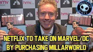 Netflix to take on Marvel/DC by purchasing Millarworld