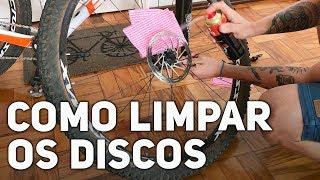 Bikers Rio Pardo   Vídeos   Evolução dos FREIOS e como LIMPAR OS DISCOS DE FREIO DA BIKE